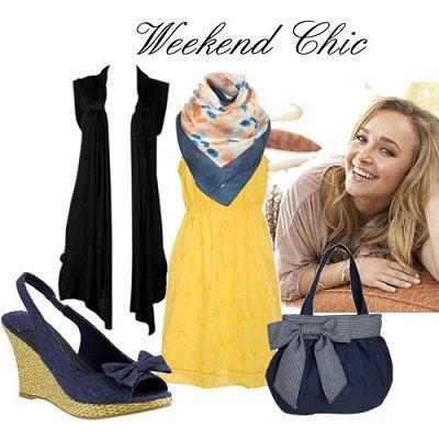 05 May - Black Sleeveless Cardi - Weekend Chic