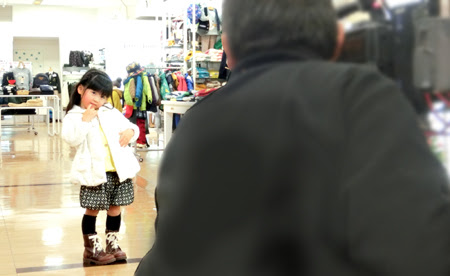 キッズモデル,松菱 キッズモデル,津松菱百貨店 キッズモデル,三重テレビ 公開収録