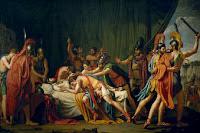 La muerte de Viriato, jefe de los lusitanos, de José de Madrazo