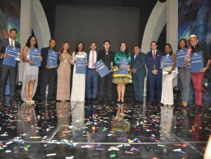Premio a la Excelencia Juvenil Juan Pablo Duarte 2016.
