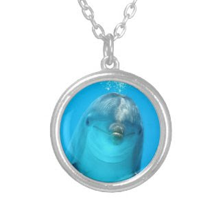 Smiling Dolphin Pendants