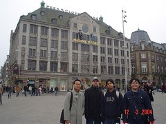 Madame Tussaud's kat Dam Square, Amsterdam, Netherlands