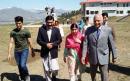 Malala Yousafzai in emotional return to hometown where she was shot in the head
