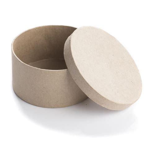 Round Paper Mache Box   Baskets, Buckets, & Boxes   Home Decor