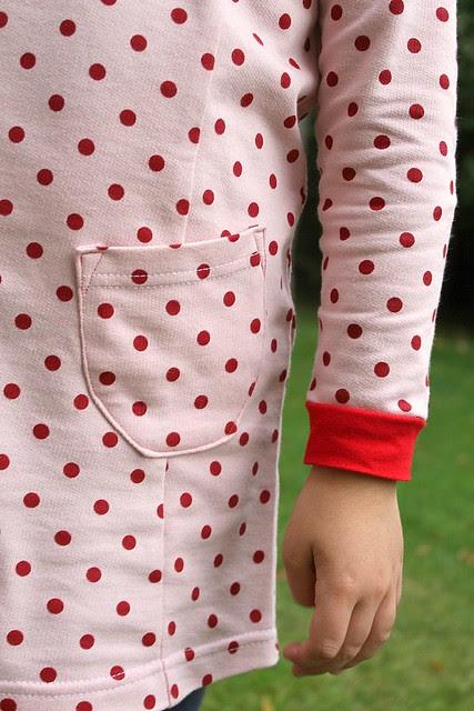 tunic princess seam detail
