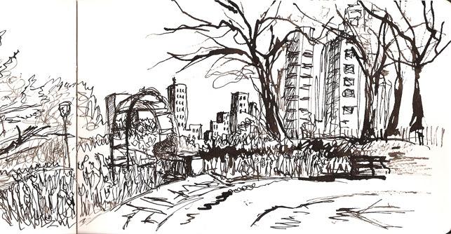 Conservatory Garden, Central Park, New York, NY