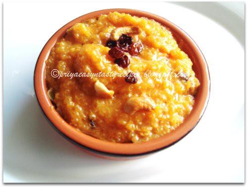 Quinoa Kesari