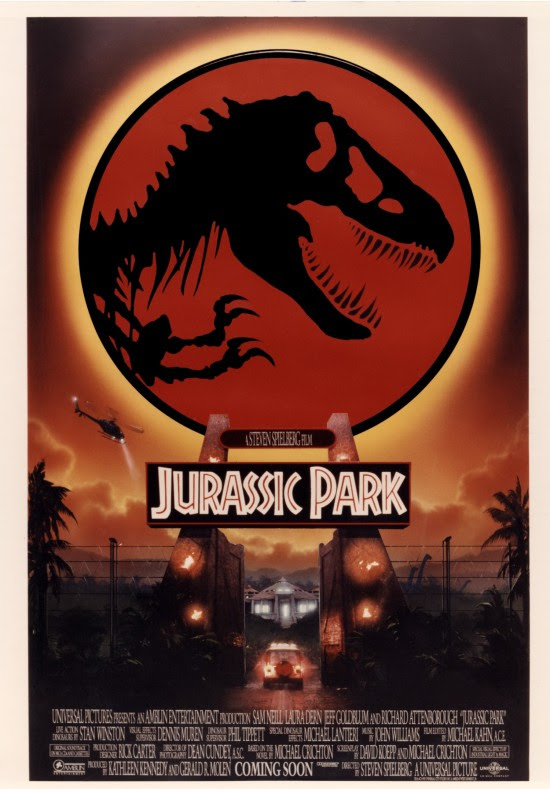 Check Out These Awesome Unused Jurassic Park Posters By John Alvin » Fanboy.com