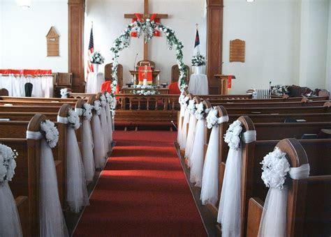 Church Decorations for Wedding   Church Wedding