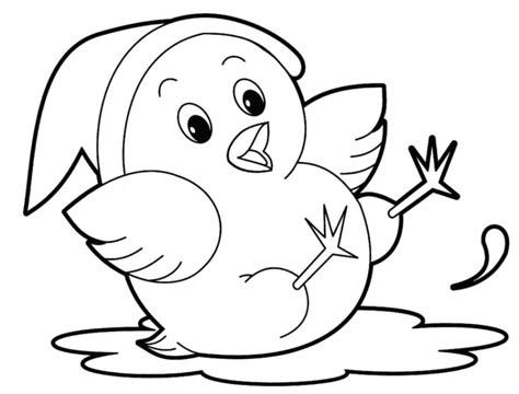 printable cute animal coloring pages