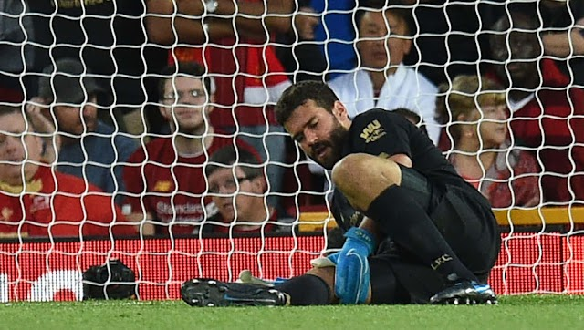 Jurgen Klopp Confirms Extent of Alisson Injury