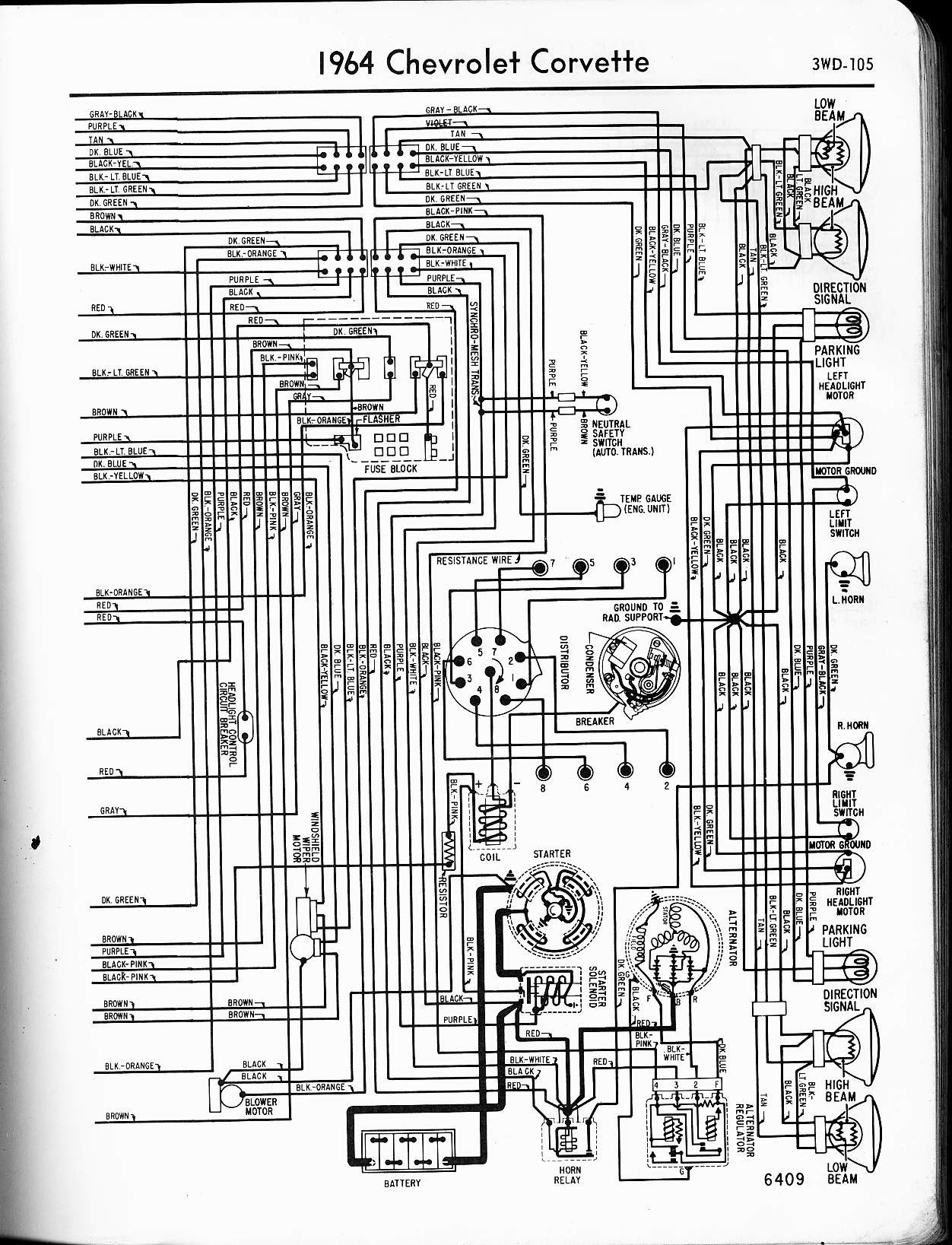 1964 Corvette Fuse Box Wiring Wiring Diagram Window B Window B Zaafran It