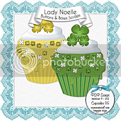 Lady Noelle - Script Cupcake 05, Lady Noelle - Script Cupcake 05 (400x400)