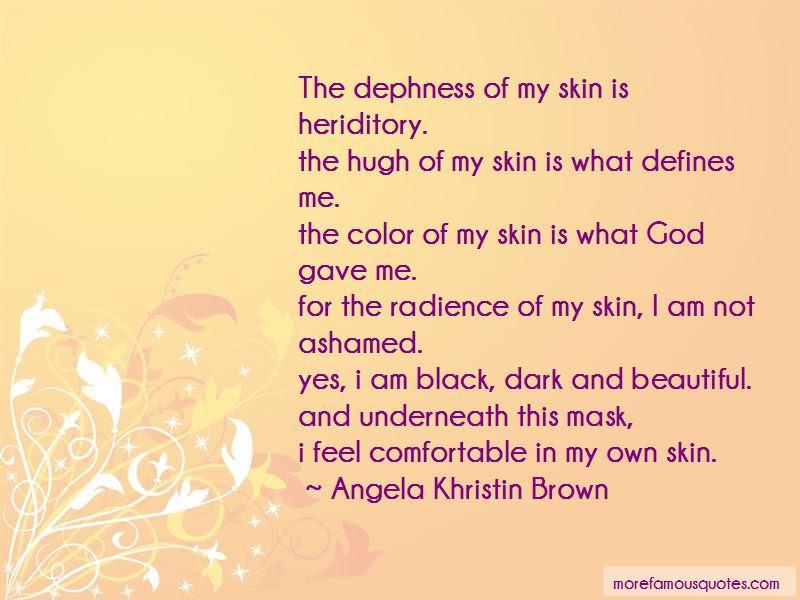 Beautiful Dark Skin Quotes Top 19 Quotes About Beautiful Dark Skin