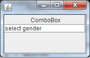 Java - JComboBox in a JTable cell