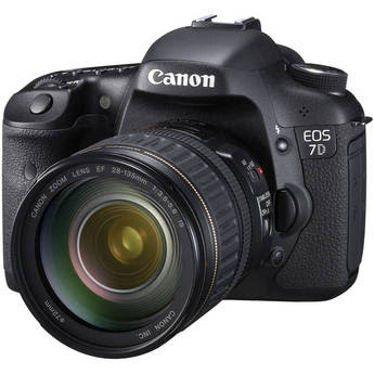 Canon 7D with 28-135mm, $200 Rebate, 2% Reward