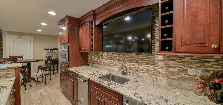 8 Top Trends in Basement Wet Bar Design for 2017 | Home Remodeling Contractors | Sebring Services