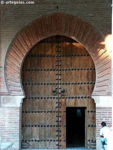 Puerta mudéjar de la Concatedral de Guadalajara