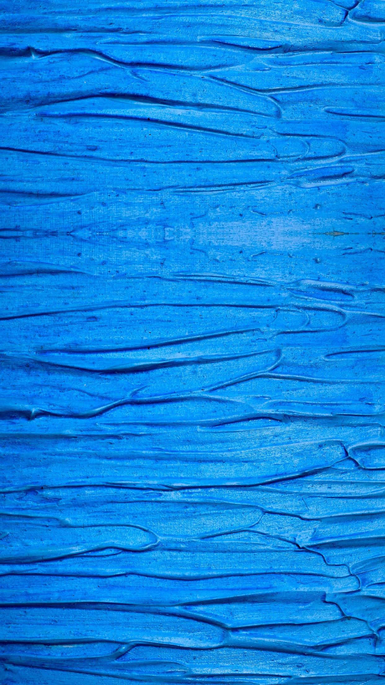 青の表面テクスチャをペイントするiphone6plus壁紙 Iphoneチーズ