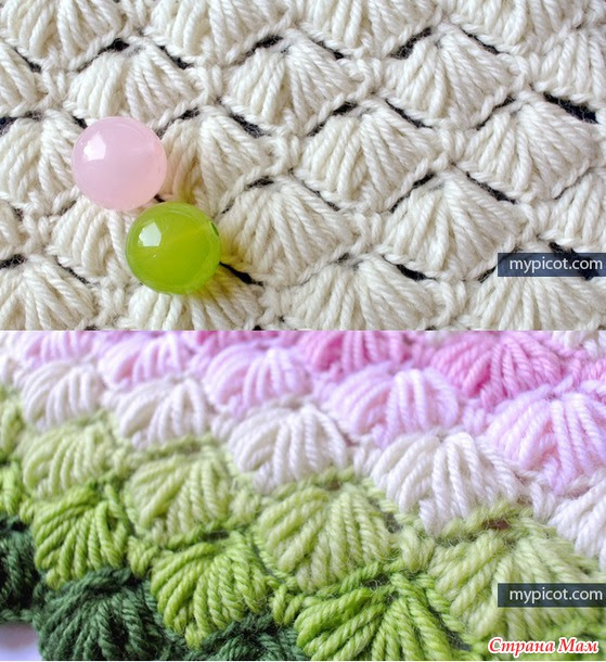 Crochet Patterns from MyPicot + link to the MK.  (Supplement)
