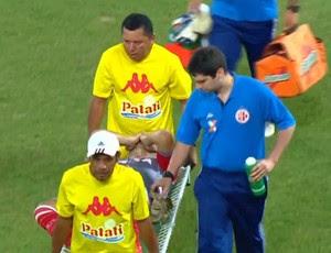 Fernando Henrique - goleiro do América-RN (Foto: Reprodução/SporTV)