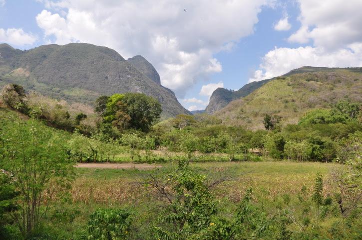 Juticalpa, honduras, le parc El Boqueron