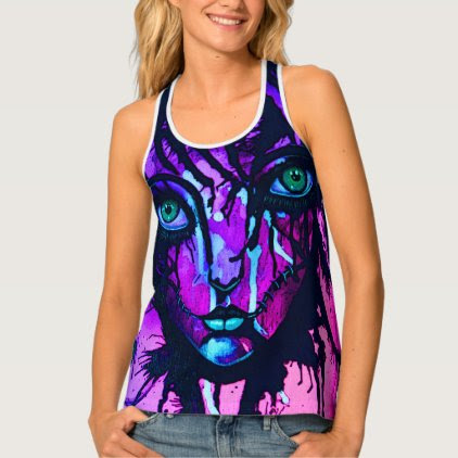 Gothic girl tank top