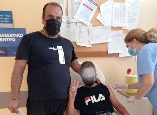 Πτολεμαΐδα: Πρώτος εμβολιασμός 13χρονου στο Μποδοσάκειο Νοσοκομείο