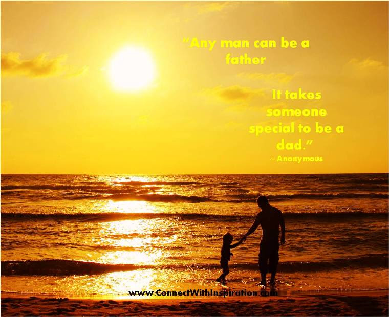 Any Man Can Be A Father Father Quote Quotespicturescom