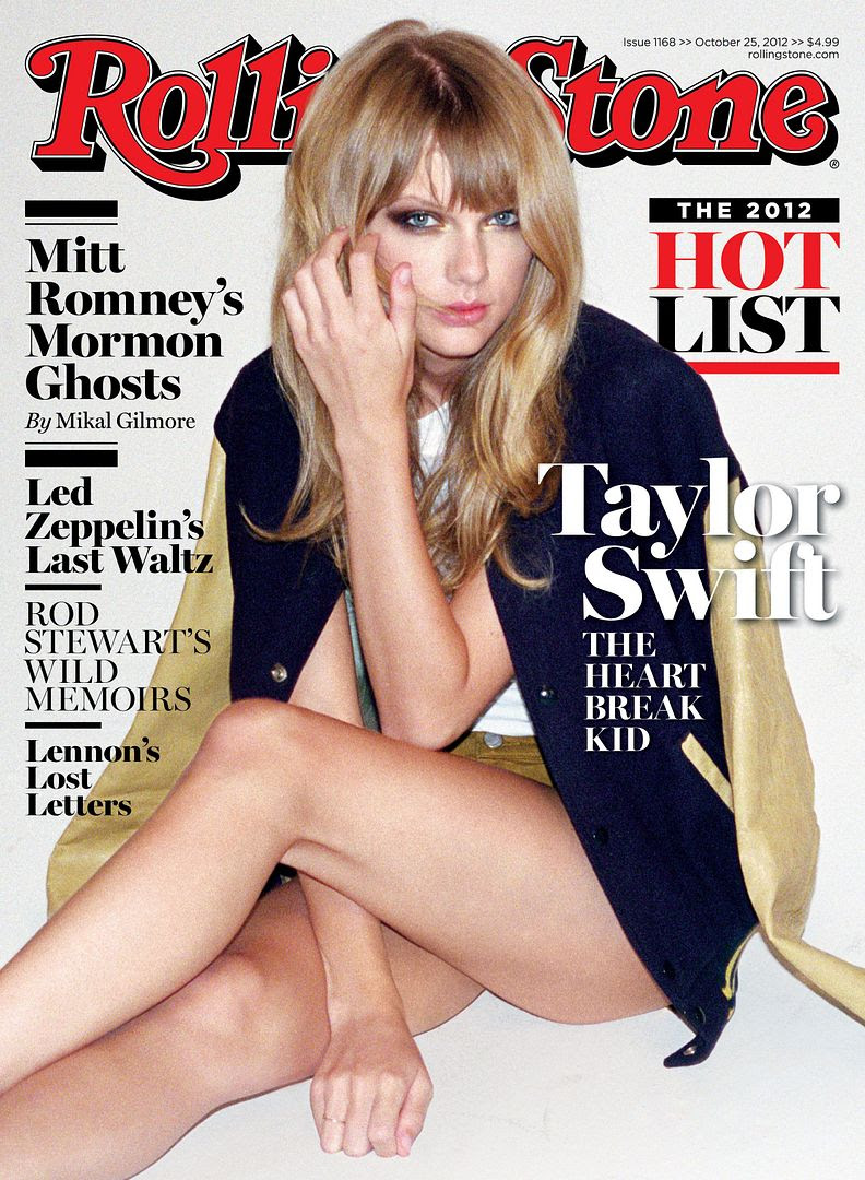 Rolling Stone (October 25, 2012), Taylor Swift