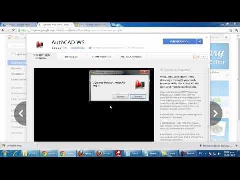 Autocad tutoriales tips y trucos abrir con google drive for Archivos de cad