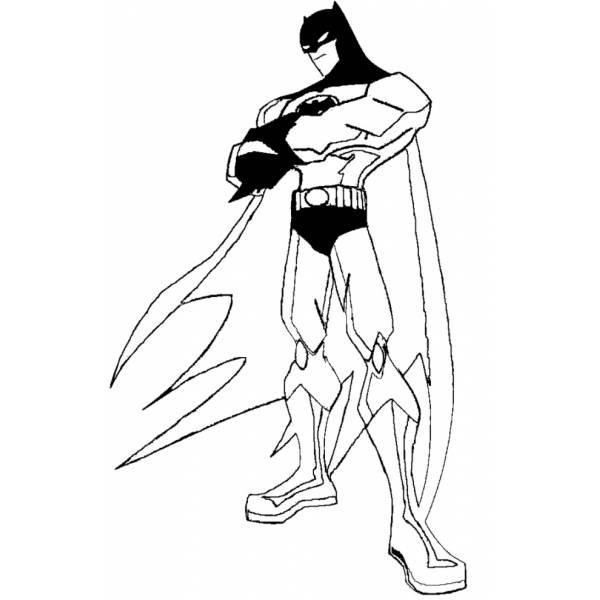 Disegno Di Batman Da Colorare Per Bambini Disegnidacolorareonlinecom