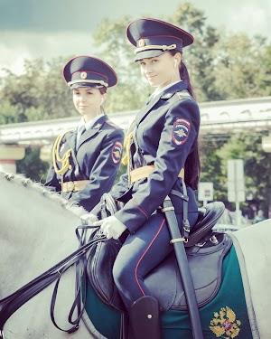 Policia montada russa