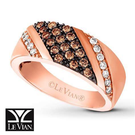 LeVian Chocolate Diamonds® 7/8 ct tw Men's Band 14K