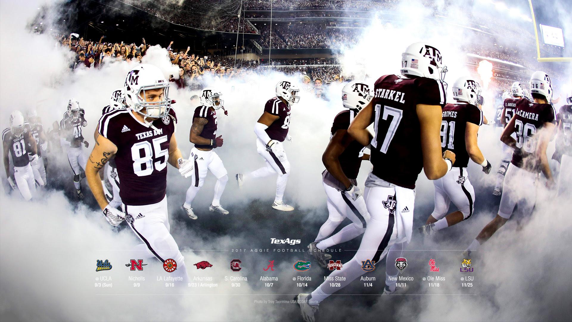 2017 Texas A\u0026M Football Wallpapers  TexAgs