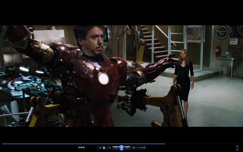 Captain America's Shield Makes a cameo appearance in Iron Man