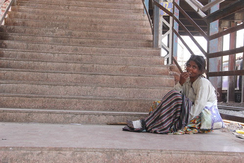 The Railways Are Home For The Beggars And The Homeless by firoze shakir photographerno1