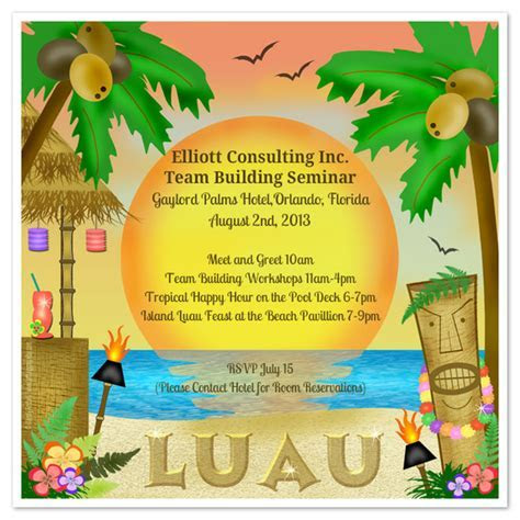 Let's Luau!, Invitations & Cards on Pingg.com