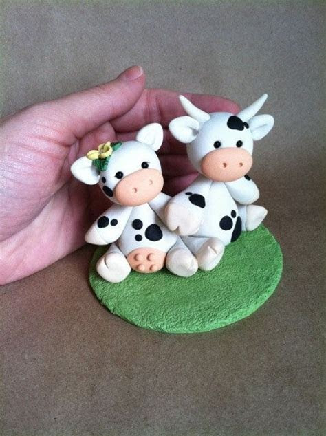 SALE Cow love Wedding Cake Topper by derekwoolever on Etsy