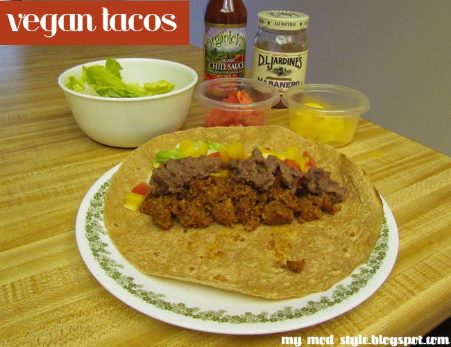 RECIPE vegan tacos