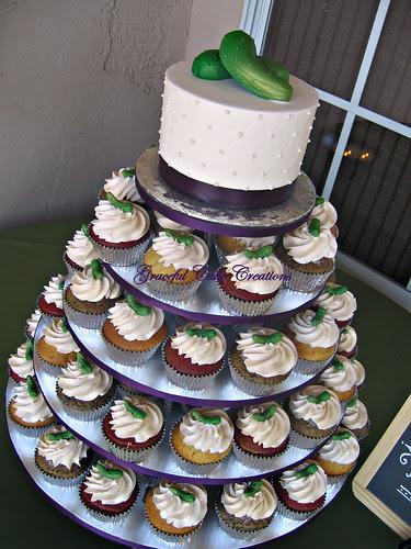 Whimsical Cupcake Wedding