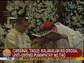 """Cardinal Tagle on illegal drug trade: """"an evil"""" that is """"slowly killing people"""""""
