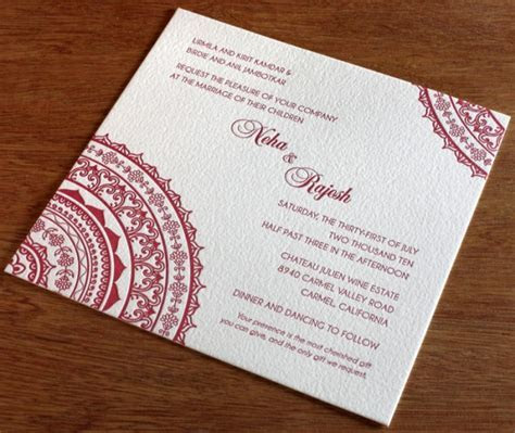2 New Indian Wedding Invitation Card Designs Summer