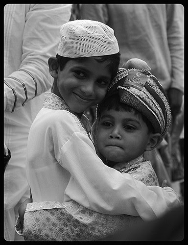 Eid Hugging Pictures For Media Consumption by firoze shakir photographerno1