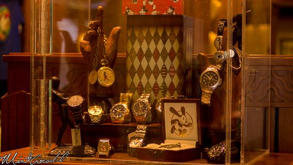 Disneyland Resort, Disney California Adventure, Buena Vista Street, Elias and Company, Watches