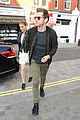 kate mara jamie bell hold hands at london hotspot 05