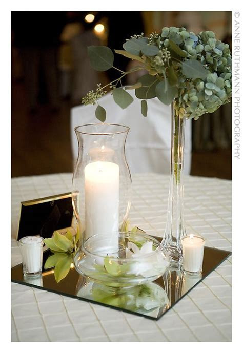 Candle Centerpieces On a Budget   Candle in a hurricane