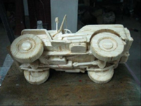 1523 Impressive Matchsticks Vehicles (20 photos)