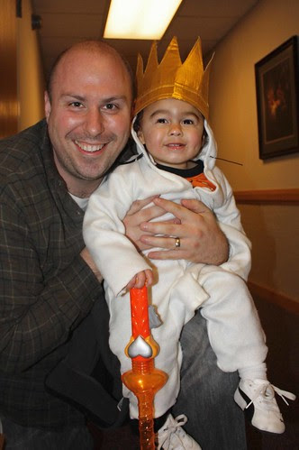 Halloween 2011 daddy and baby