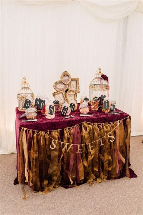 25  best ideas about Wedding sweet tables on Pinterest